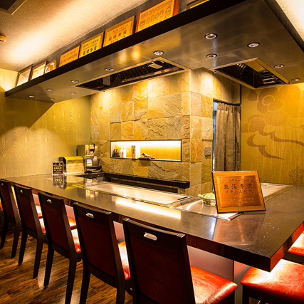 "If you feel the ""sweetness"" of Kobe beef as much as possible, Teppanyaki full of presence"