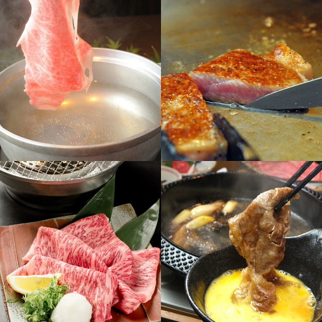 How to eat various kinds that can enjoy the delicacy of Kobe beef